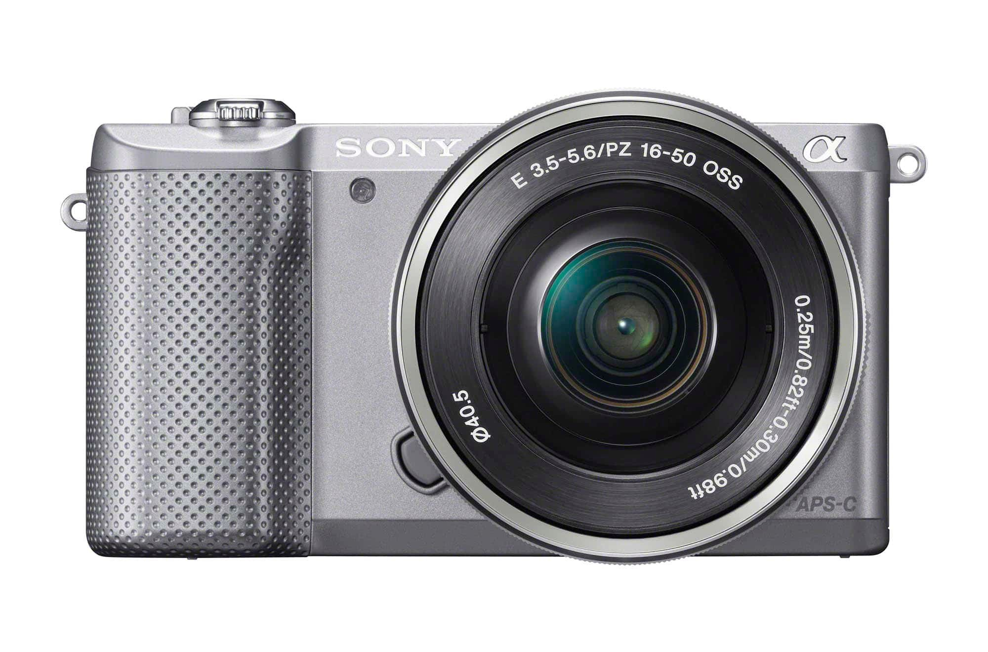 Sony a5000 Front SELP1650 Silver