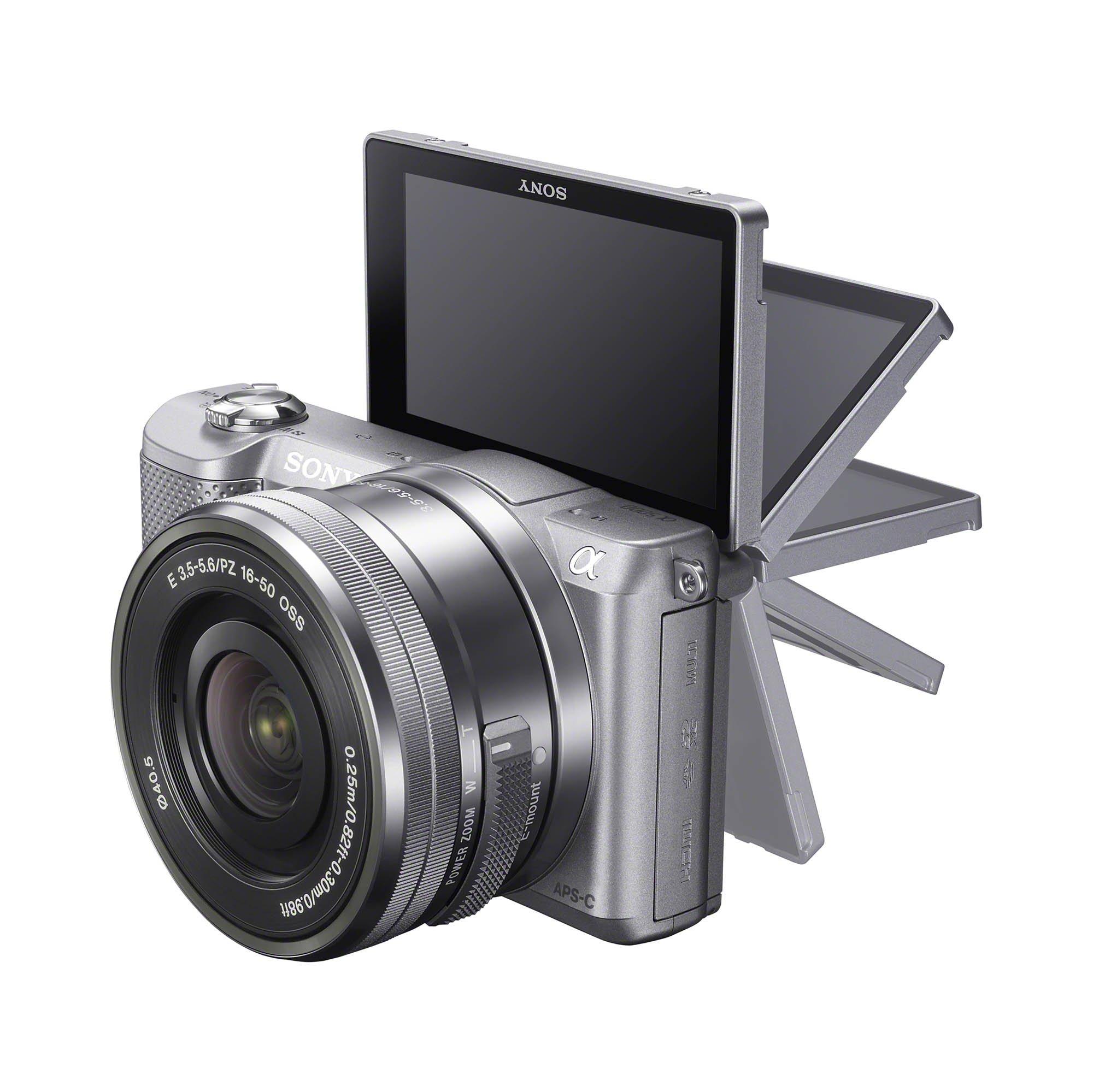 Sony a5000 LCD Flip Silver