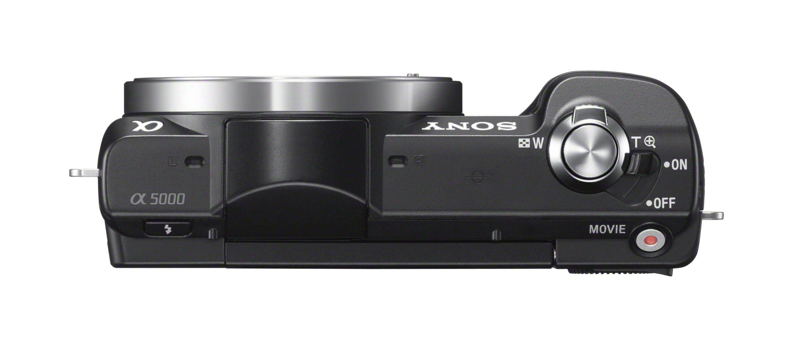 Sony a5000 Top Black