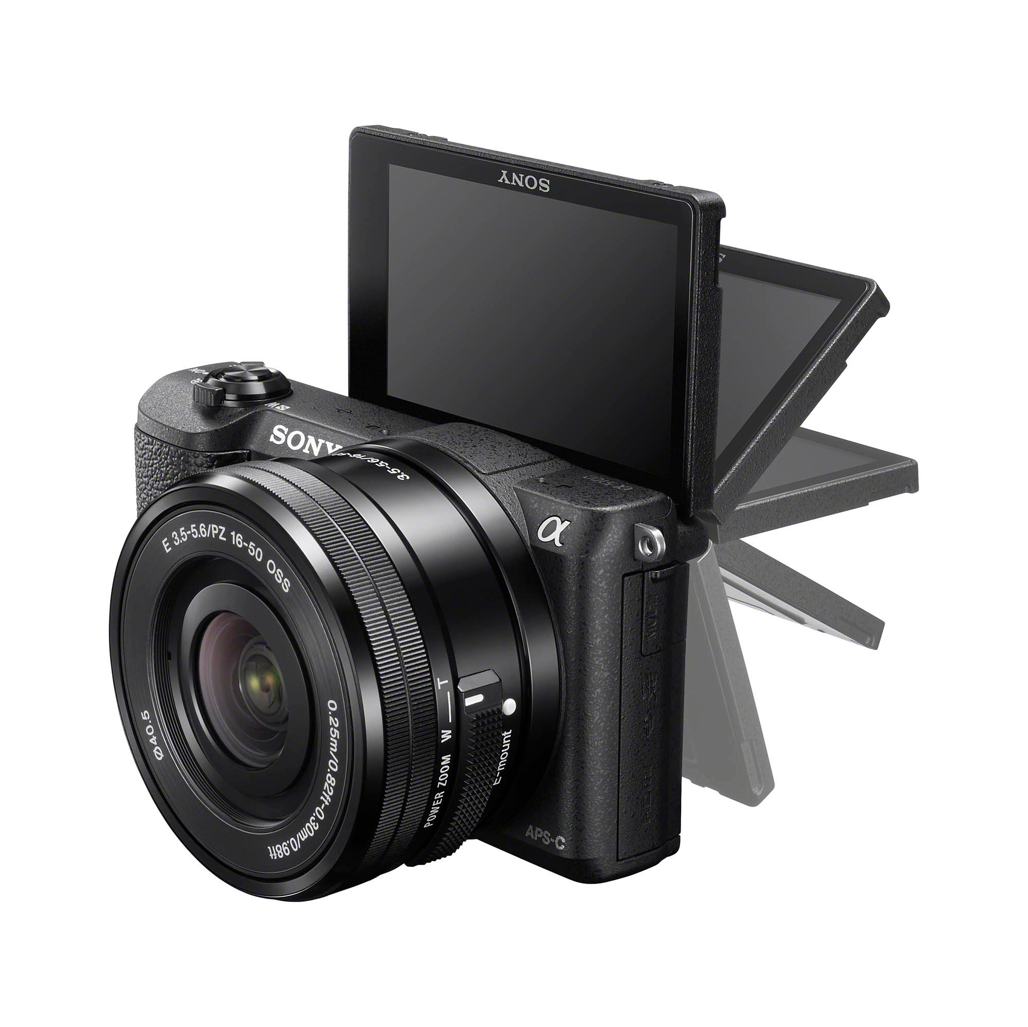 Sony a5100 Side LCD Black