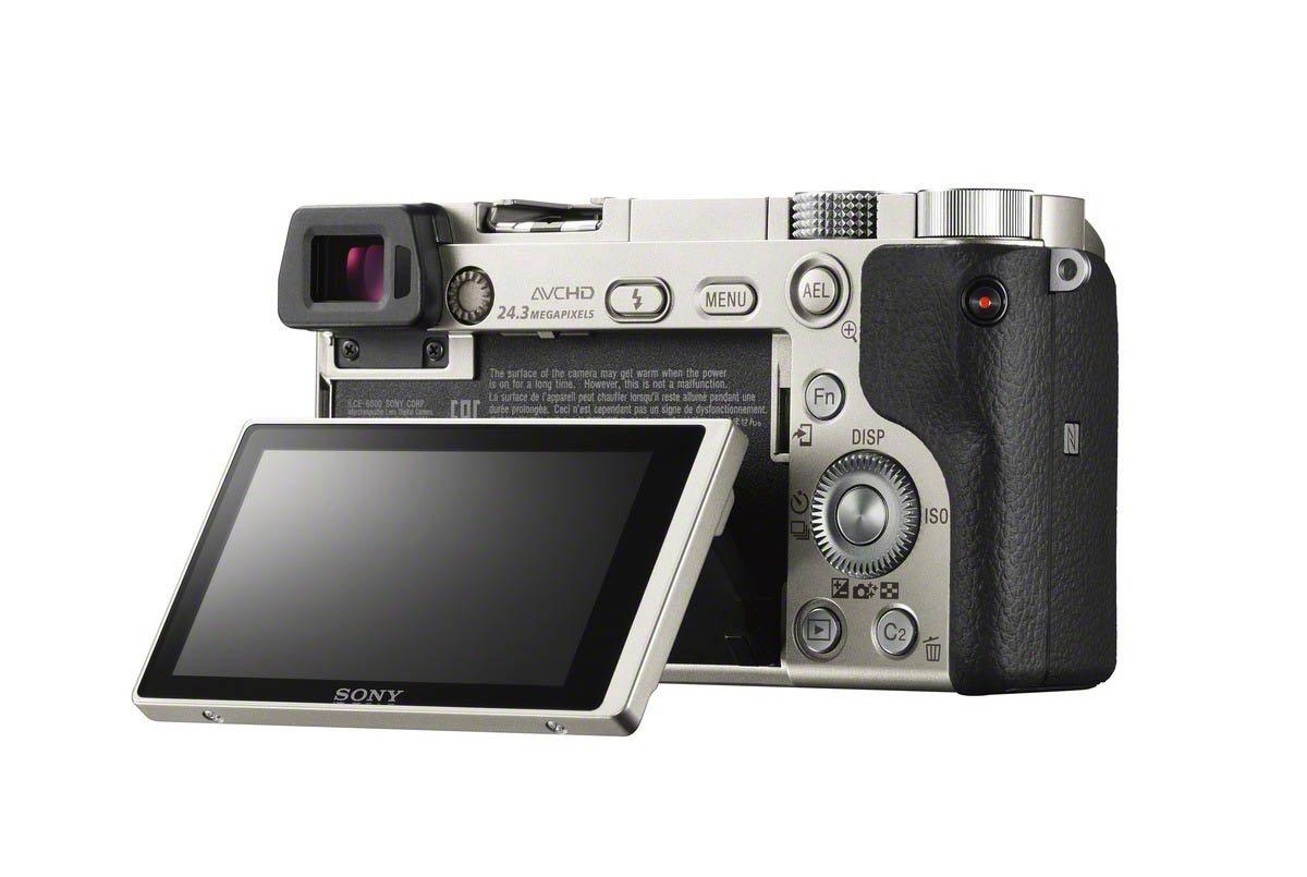 Sony a6000 Rear LCD Silver