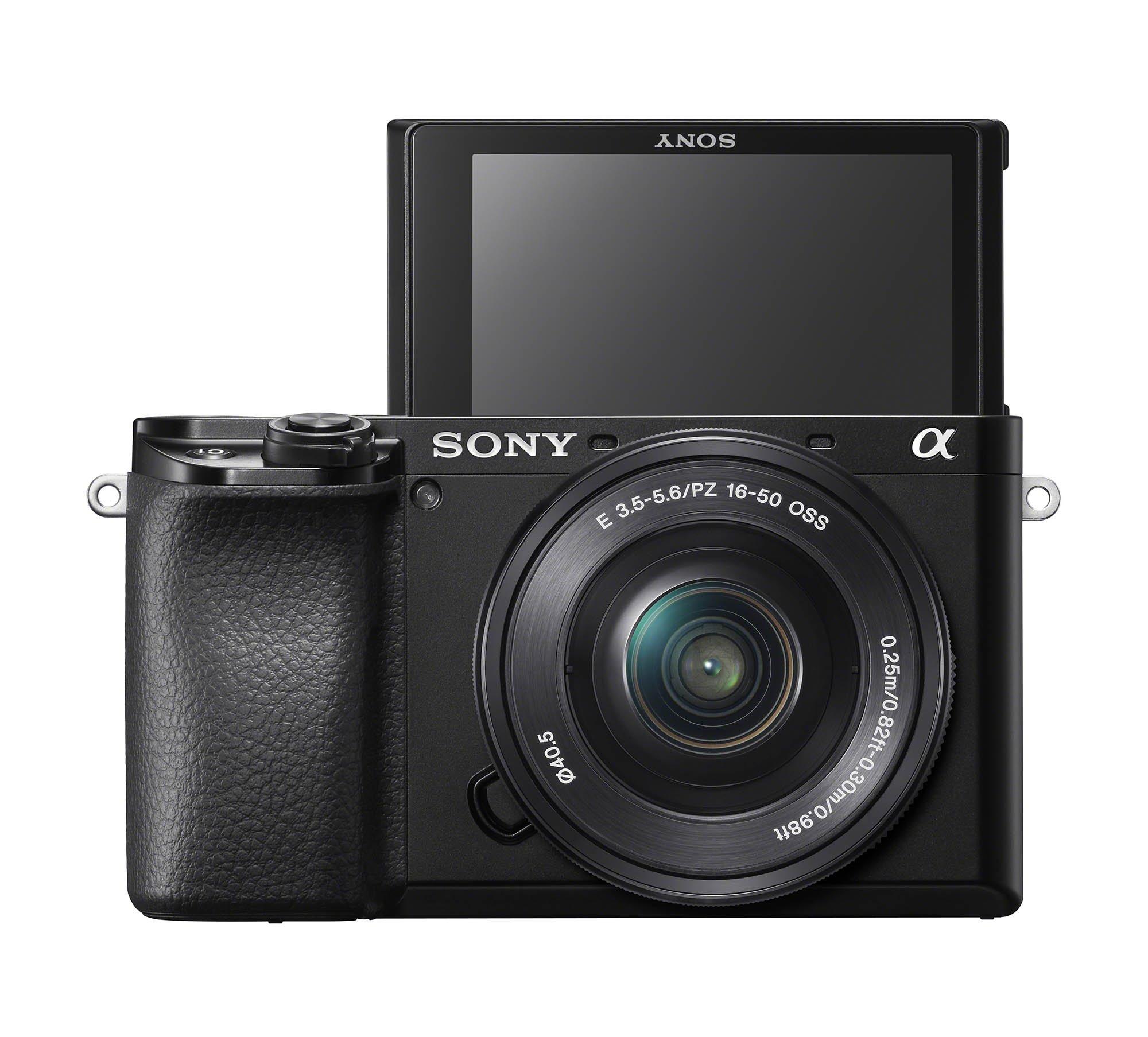 Sony a6100 SELP1650 Selfie