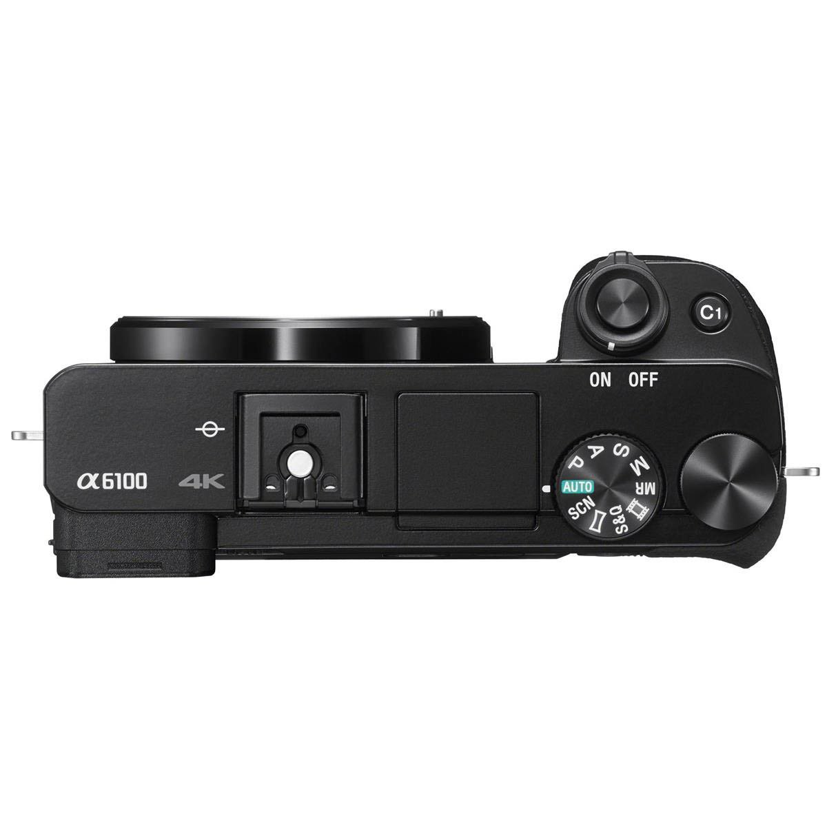 Sony a6100 Top