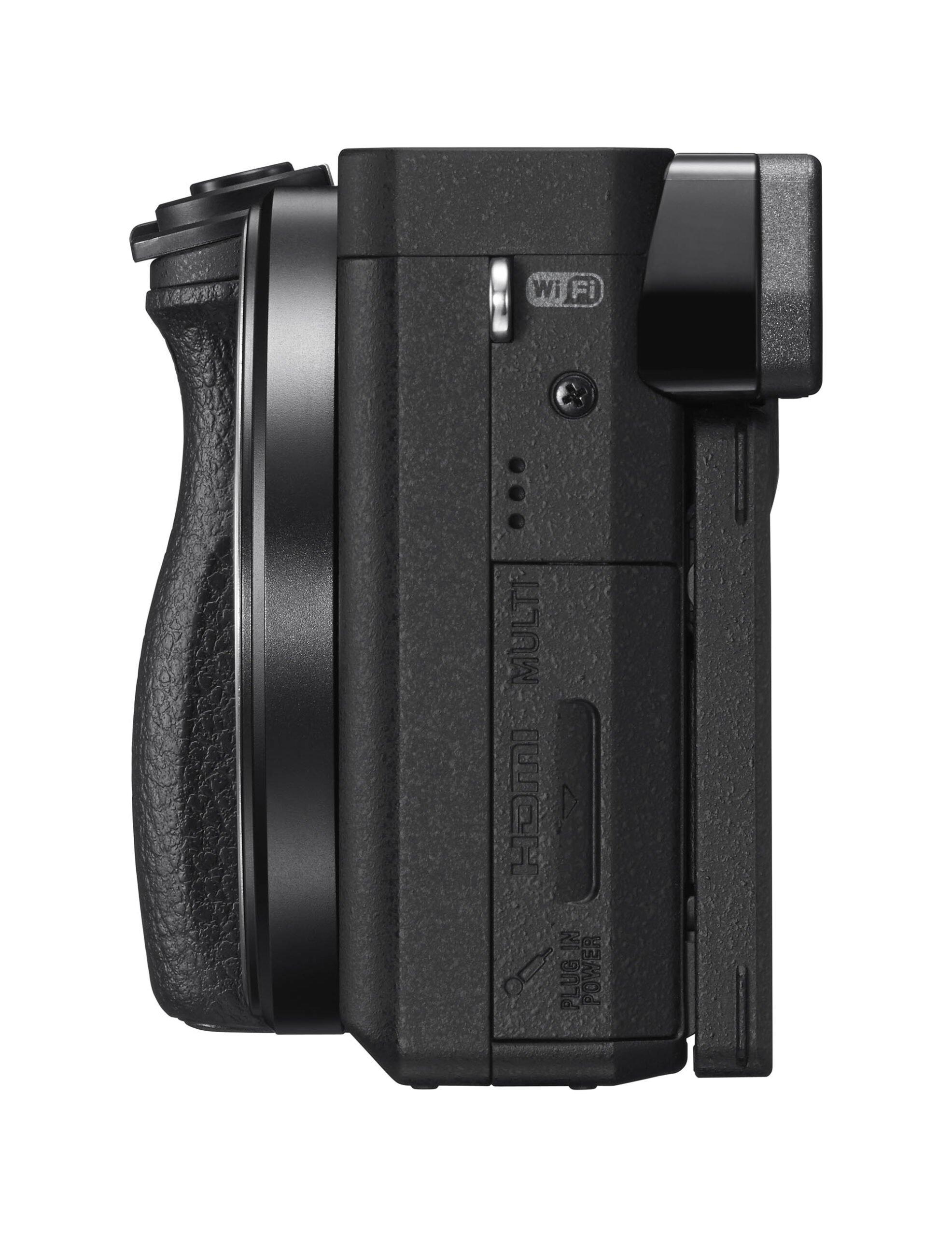 Sony a6300 Right Ports