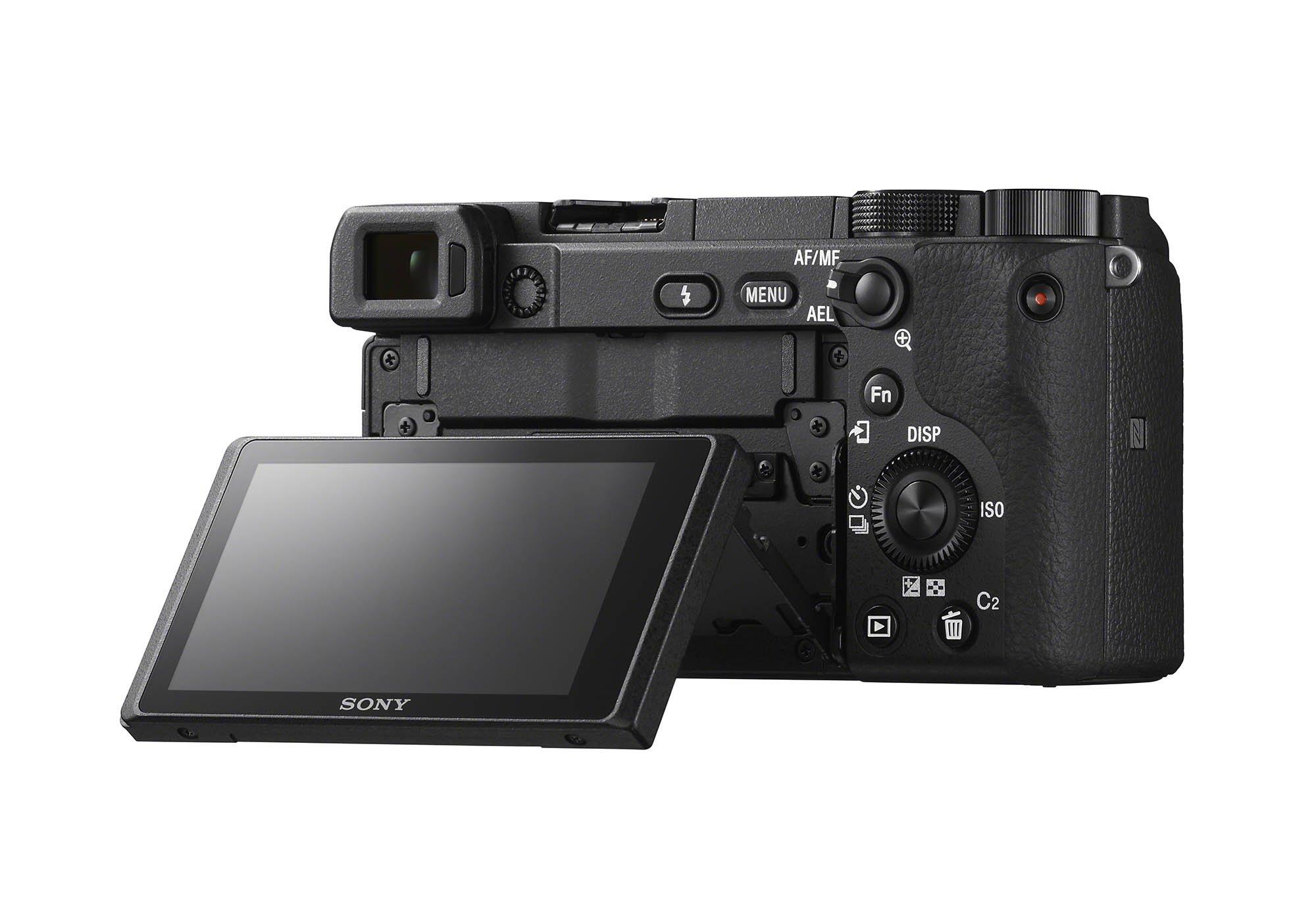 Sony a6400 Rear LCD Tilt