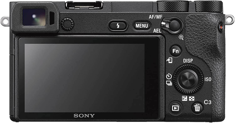 Sony a6500 LCD Rear