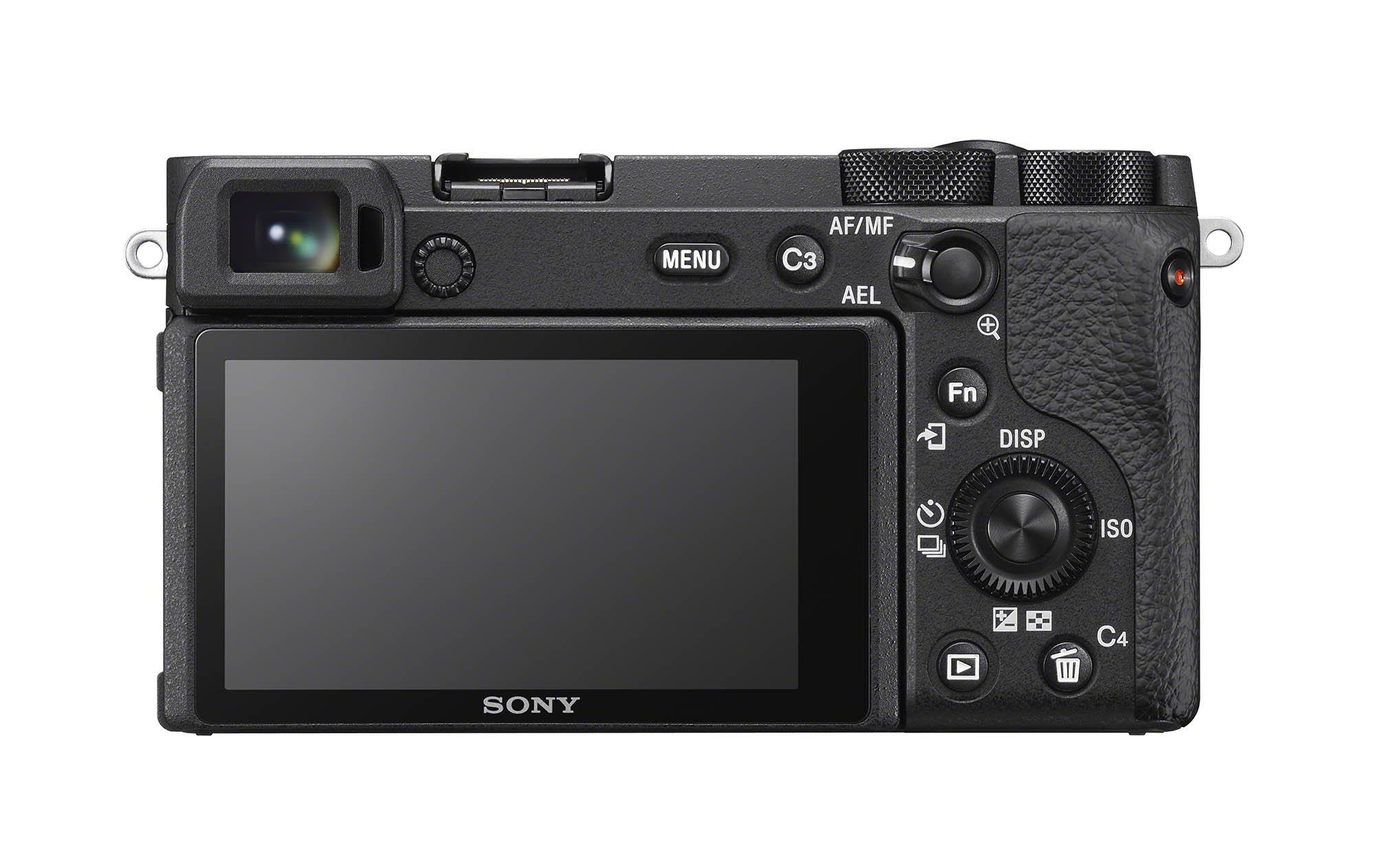 Sony a6600 Rear LCD
