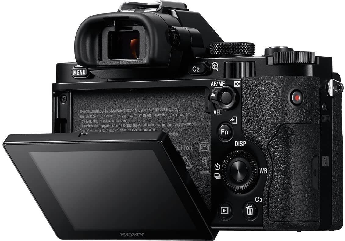 Sony a7 Rear LCD Tilt