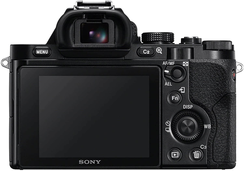 Sony a7 Rear LCD
