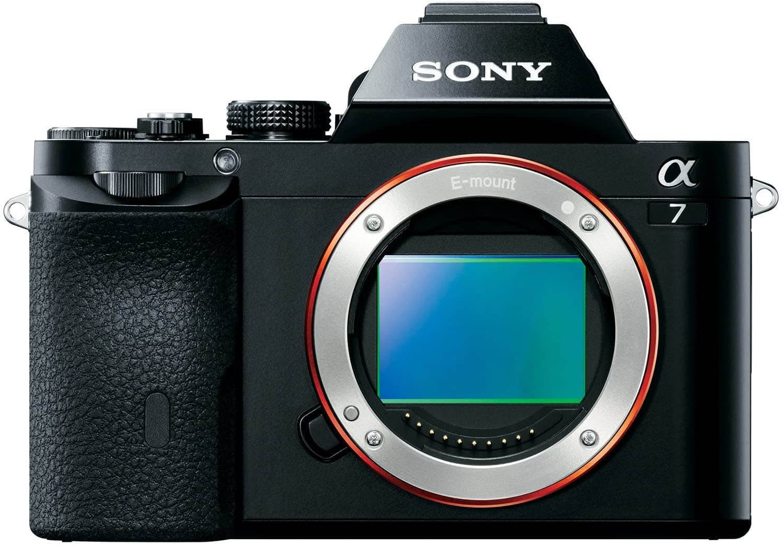 Sony a7 Sensor Front