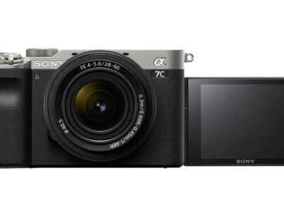 Sony a7C Front LCD Silver