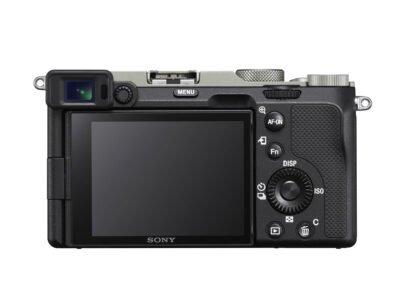 Sony a7C Rear LCD Silver