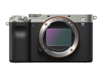 Sony a7C Sensor Silver