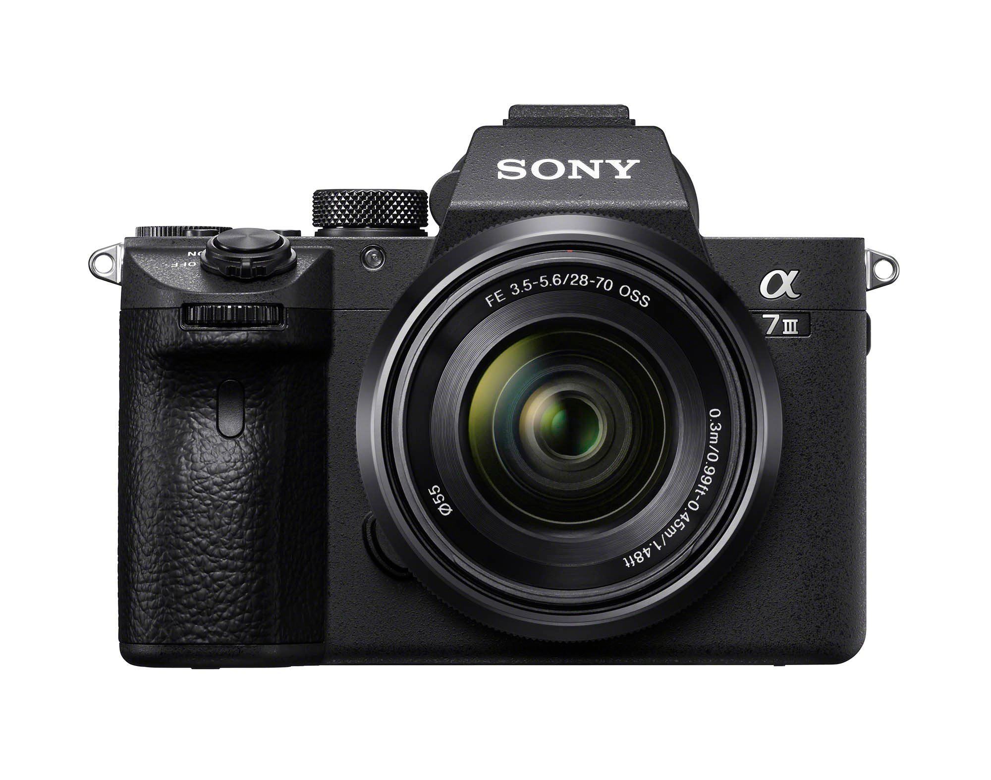 Sony a7III Front FE2870