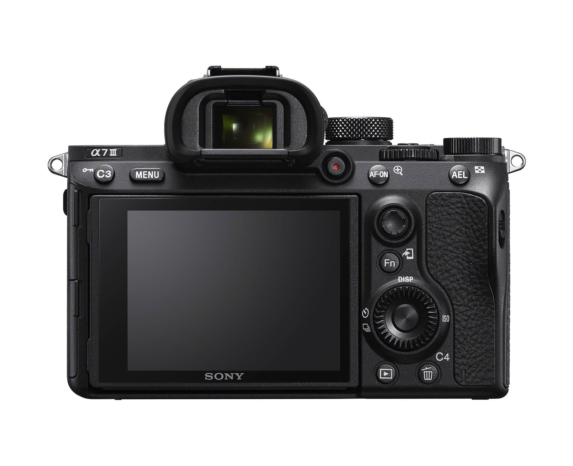 Sony a7III Rear LCD