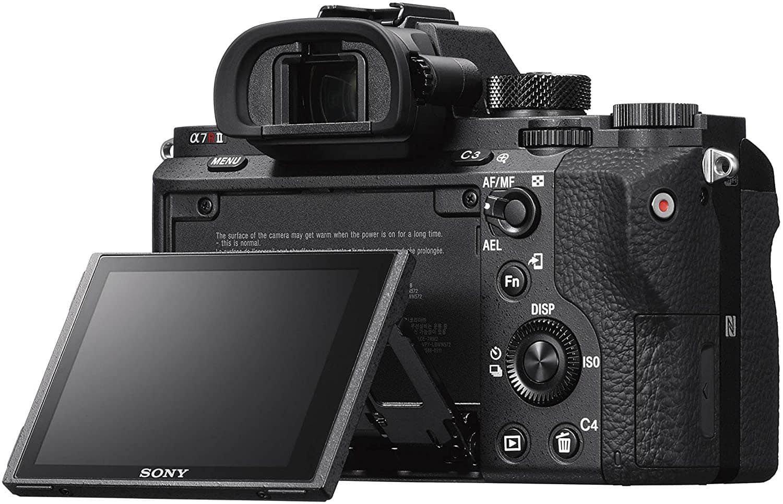 Sony a7RII Rear LCD Tilt