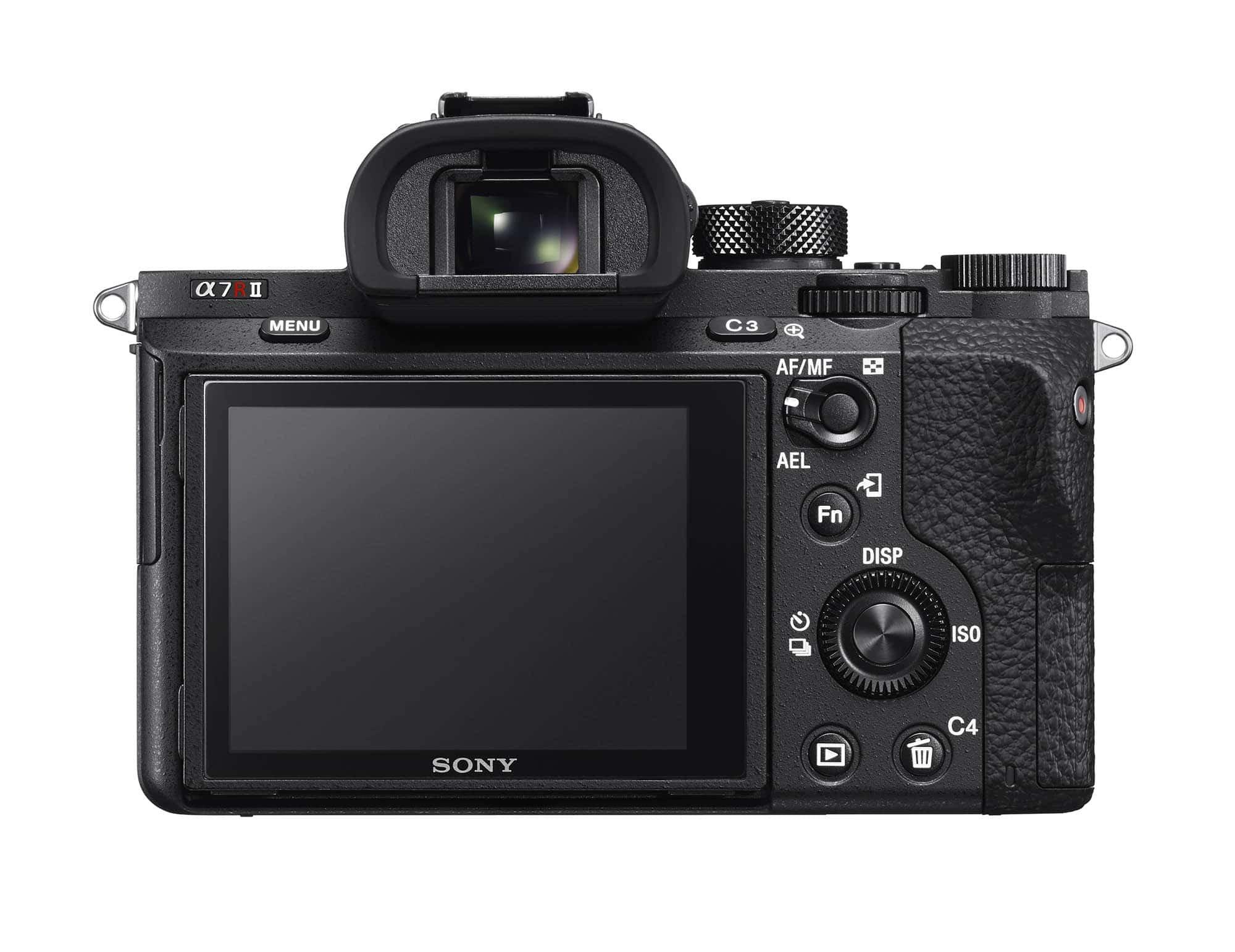Sony a7RII LCD Rear