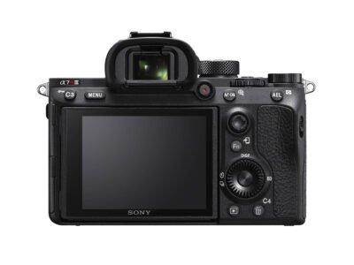 Sony a7RIII Rear LCD
