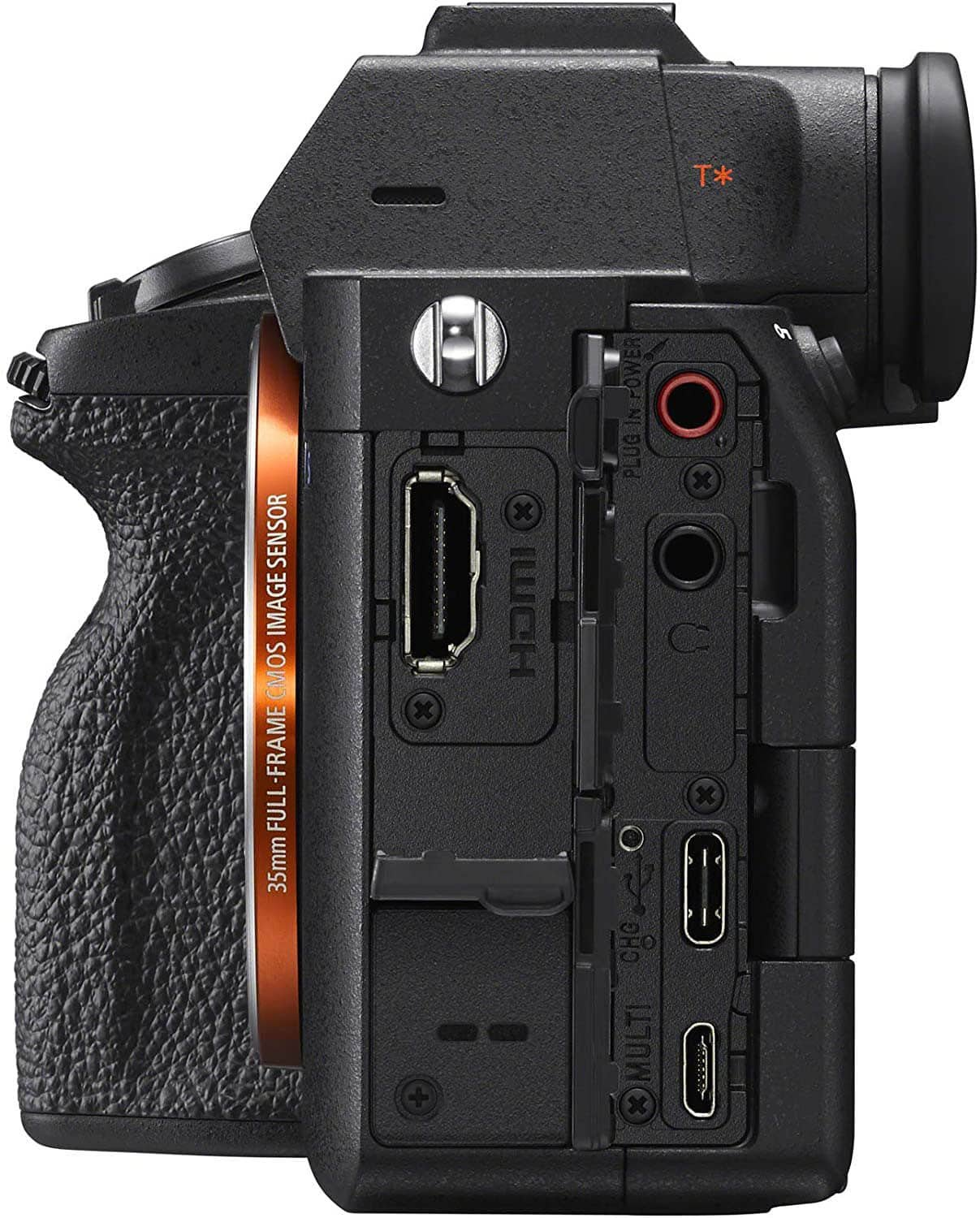 Sony a7S III SD Ports Right