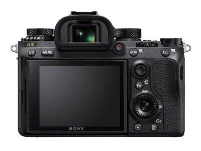 Sony a9 LCD Rear