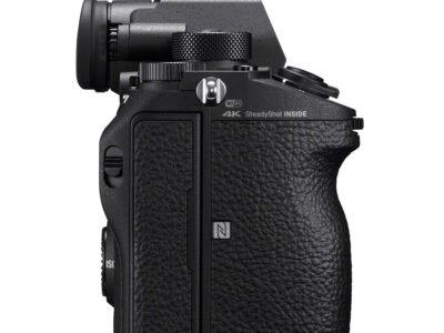 Sony a9 SDcard Ports Left