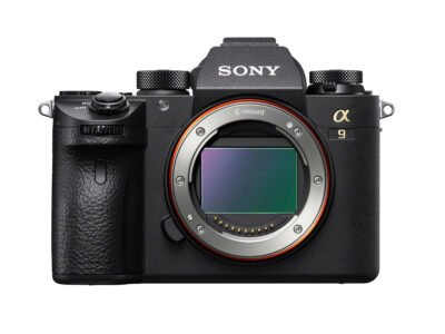 Sony a9 Sensor Front
