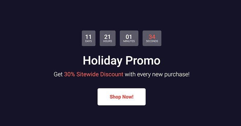 Topaz Lans Holiday Promotion 2020