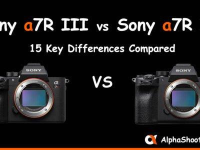 Sony a7III vs a7R IV