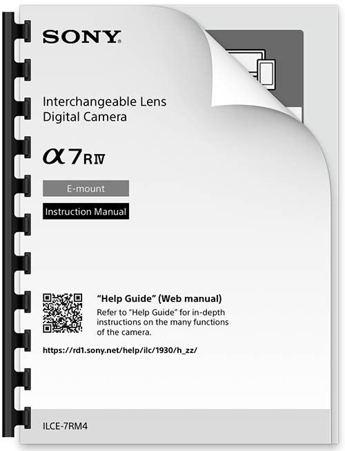 Sony a7R IV Manual