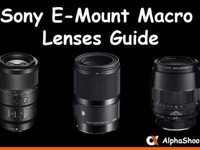 Sony E Mount Lenses Guide Alphashooters Com