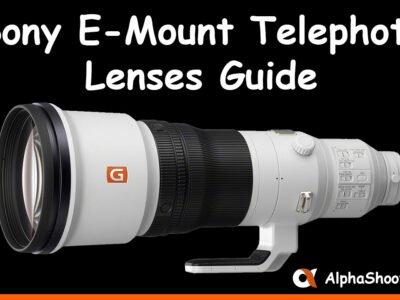 Sony E-Mount Telephoto Lenses