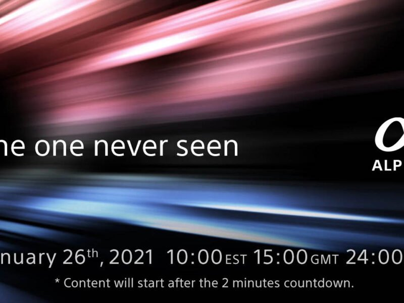 Sony Teases New Alpha Product