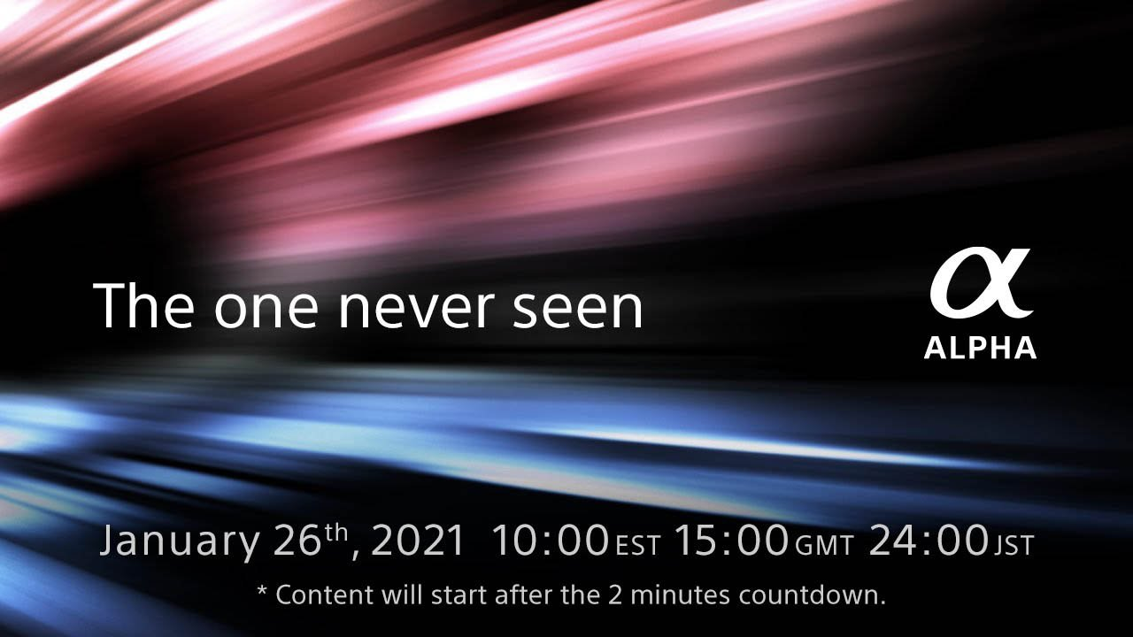 Sony Teases New Alpha Product