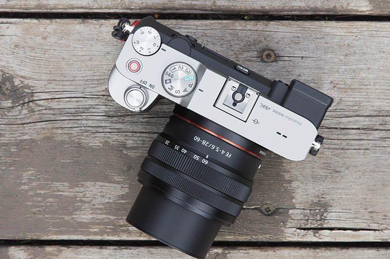 Sony FE 28-60 Lens on Sony a7C