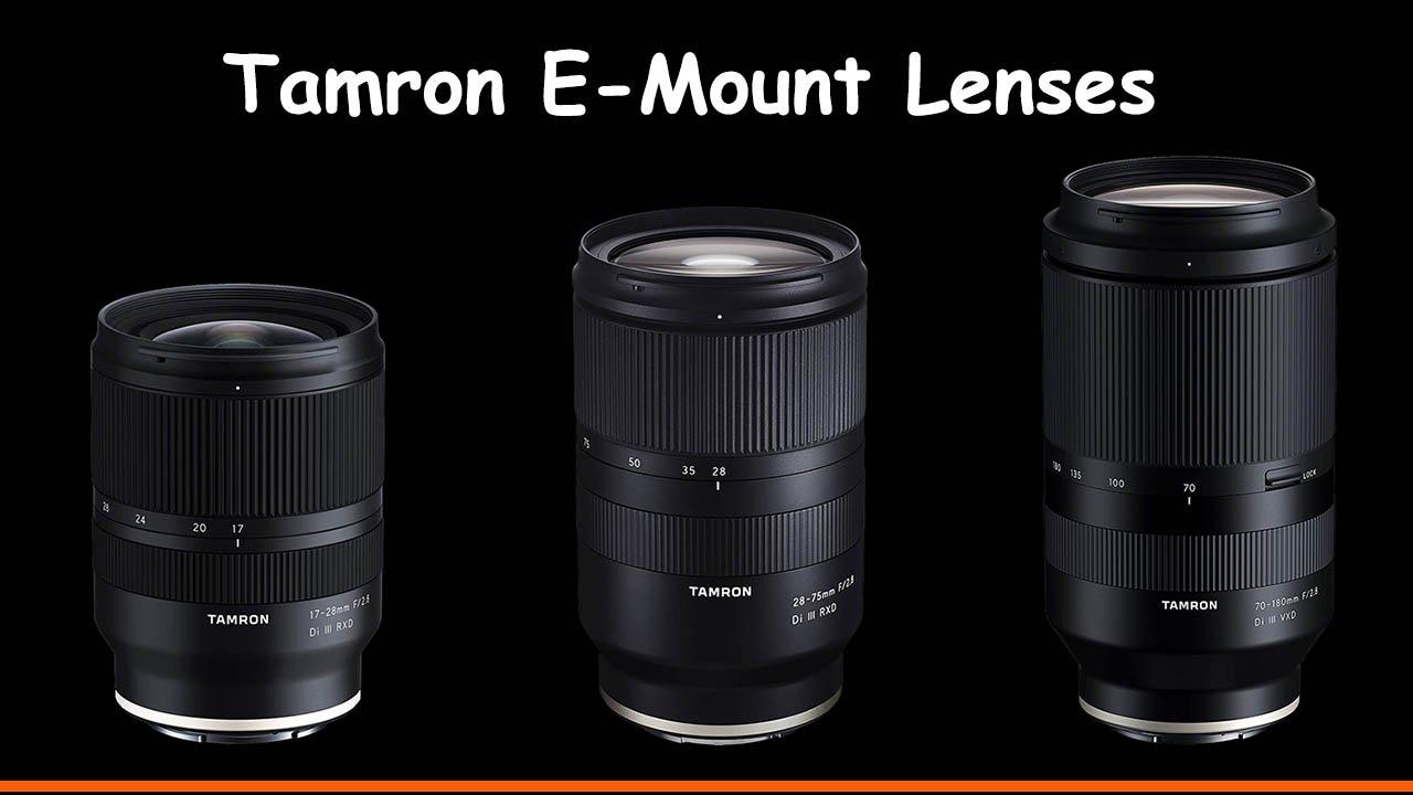 Tamron E-Mount Lenses Guide