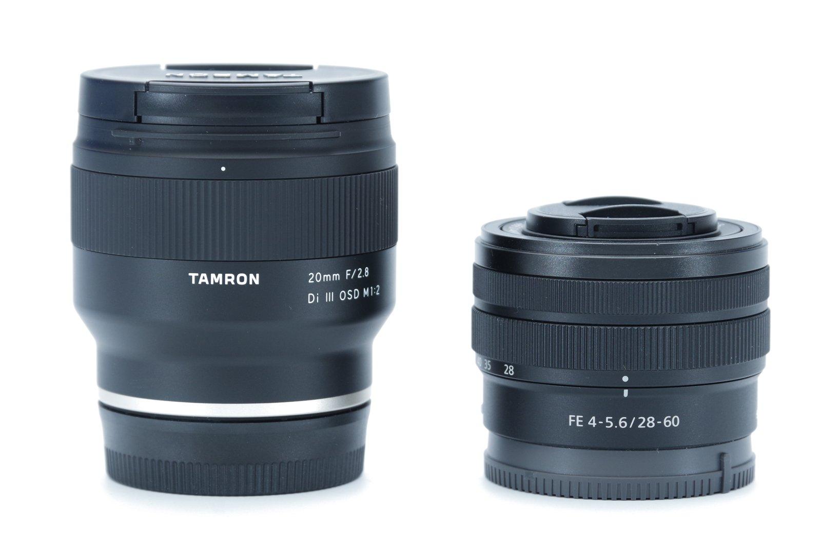 Tamron 20mm F2.8 vs Sony FE 28-60mm