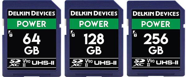 Delkin Devices 64GB POWER UHS-II SDXC