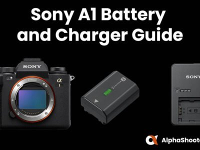 Sony A1 Battery and Charger Guide