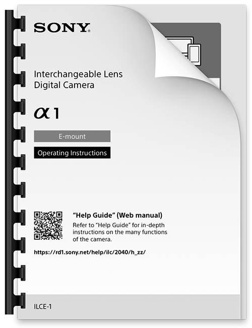 Sony A1 Manual