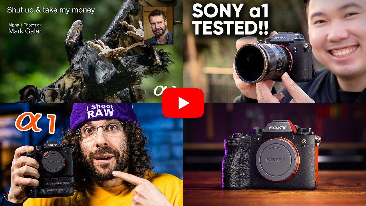 Sony a1 reviews