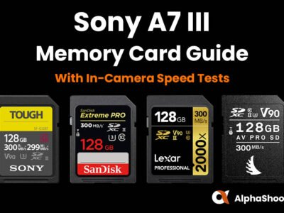 Sony A7III Memory Cards
