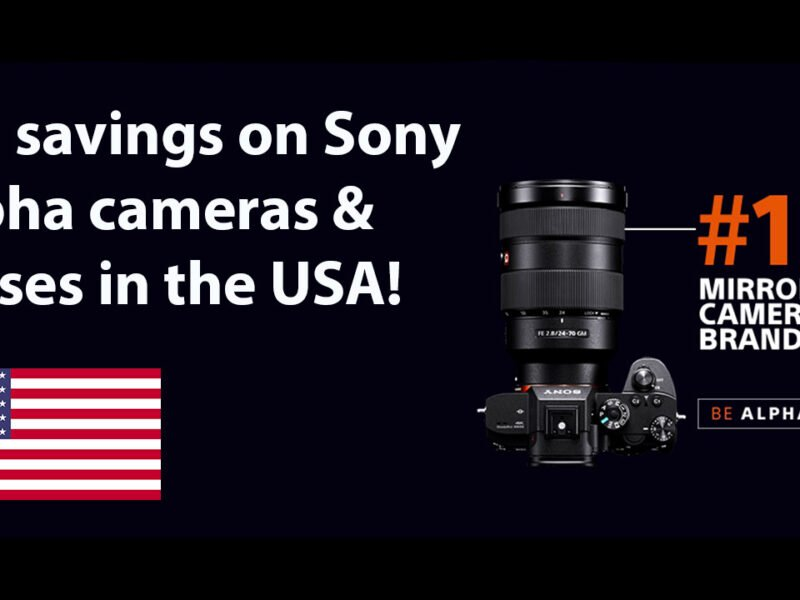 Sony Alpha Deals