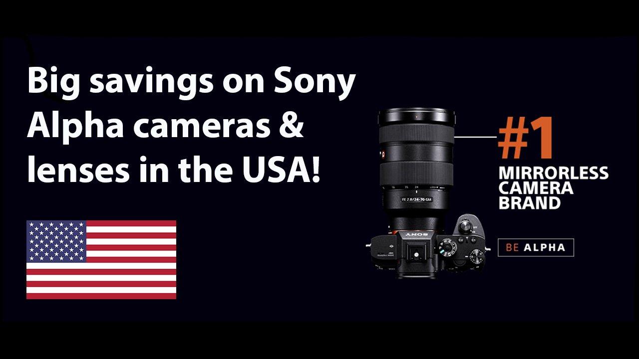 Sony Alpha Deals