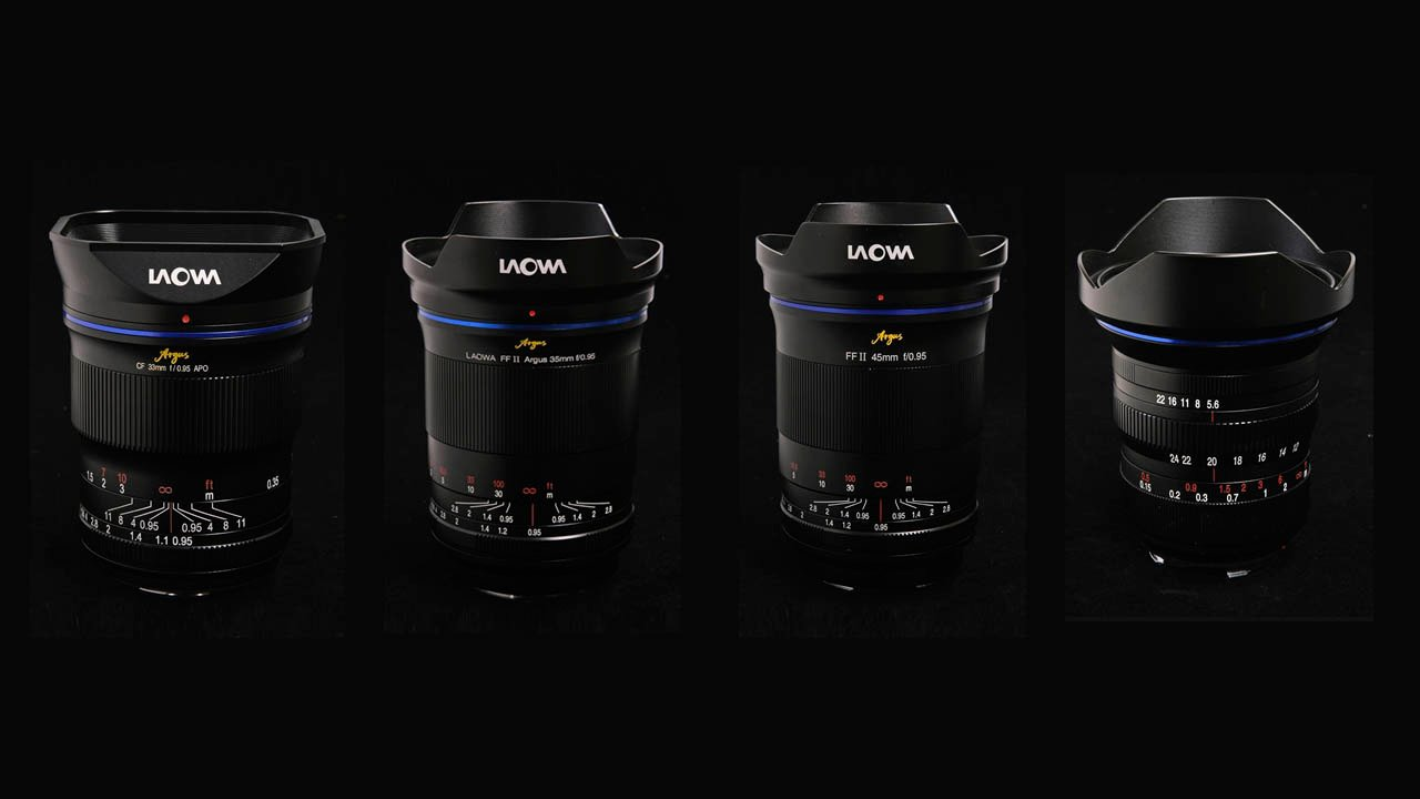 Venus Optics Announces 4 New Lenses