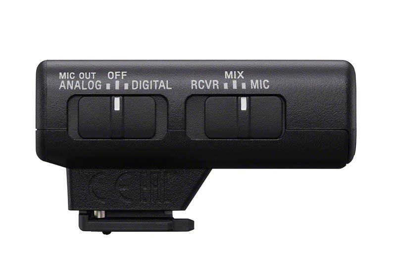 Sony ECM-W2BT Wireless Microphone Side Switches