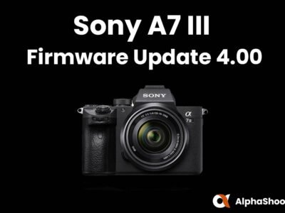 Sony a7 III Firmware Update