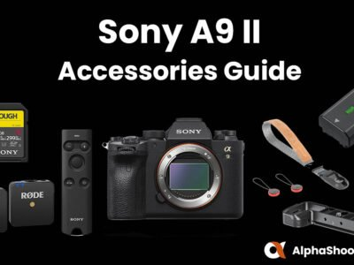 Sony a9II Accessories
