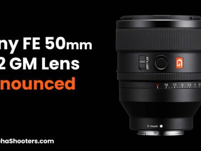Sony FE 50mm F1.2 G Master Announced