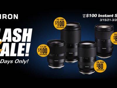 Tamron USA Flash Sale