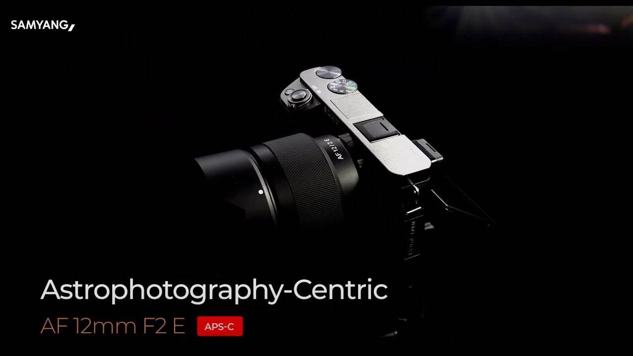 Samyang 12mm F2 E Lens